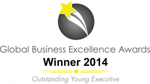 Owen Jobling was the winner of Outstanding Young Executive in 2014