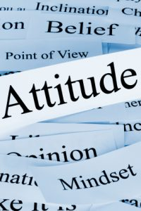 A conceptual look at attitude, and associated concepts.